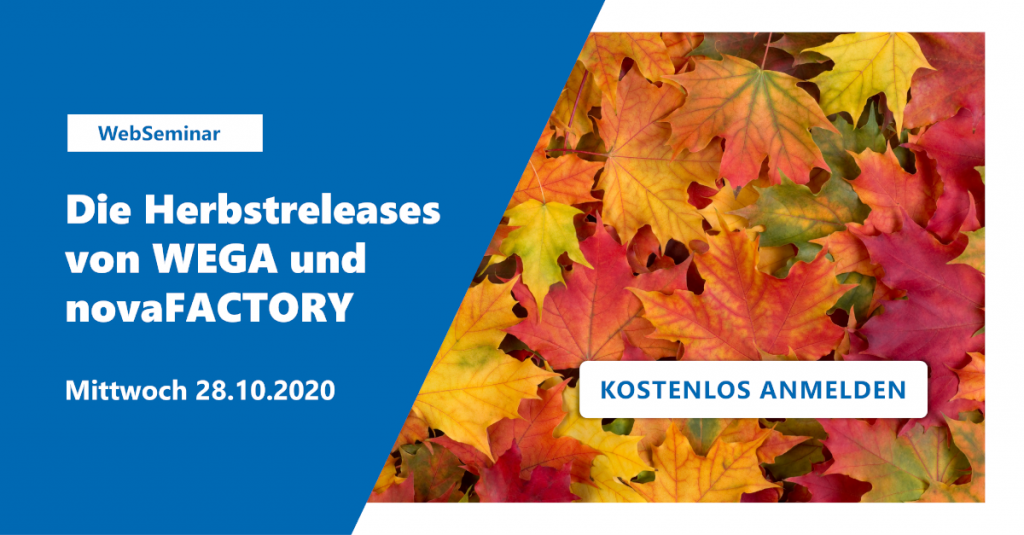 Herbstreleases WEGA & novaFACTORY